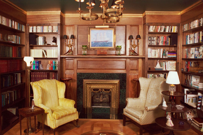 Artisans of the valley custom libraries for Custom home library design