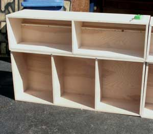 Custom Build Window Surround Cases - Unfinished Cases In Progress 1