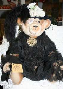 Stearnsy Bears custom hand made bear Francis Schnake