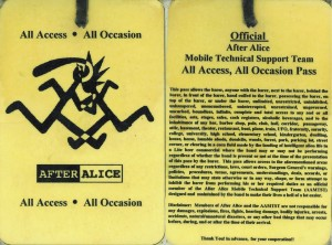 After Alice All Access All Occassion Pass
