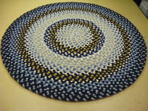 Hand Crafted Braided Rug by Marge Yonda