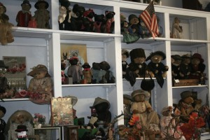 Inside the Stearnsey Bears shop in Stotts City, MO