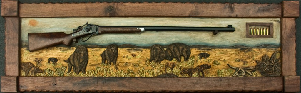 Shiloh Prairie by Eric M. Saperstein Artisans of the Valley Woodcarving Artwork