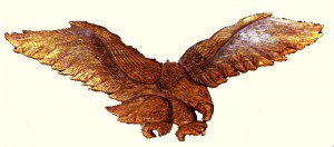 Artisans of the Valley - Hand Carved Eagle