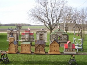 John Looser - Extreme Bird Houses Group Shot 2