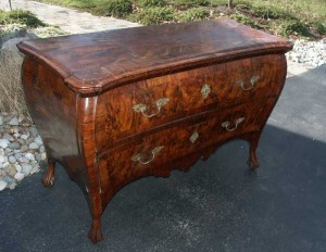 Artisans of the Valley Restoration - Louie XV Commode Circa 1750