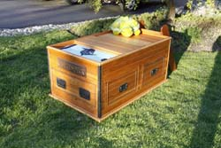 Sea Chest Bed for Animal Planet's Tanked Episode 5 Good Karma