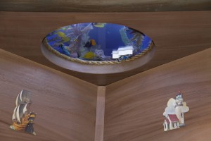 "Sea Chest Bed for ""Tanked"" Episode 5 Good Karma Portal View"