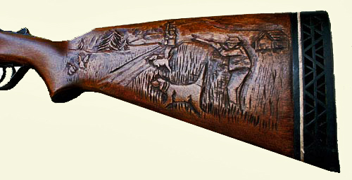 Custom gunstock carving artisans of the valley s site
