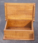 Quarter Sawn 375 Year Old White Oak Bible Boxes by Artisans of the Valley