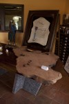 Artisans of the Valley at Hopewell Valley Vineyards Mixing Pallets 2012 - Redwood Burl Table Project