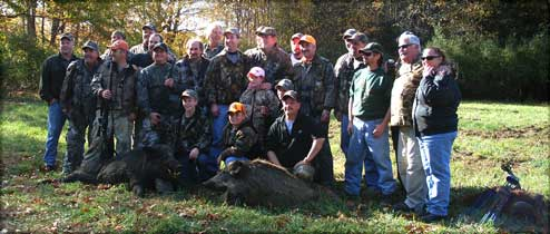 2007 Pork Slam at Sunrize Acres - Group Photo