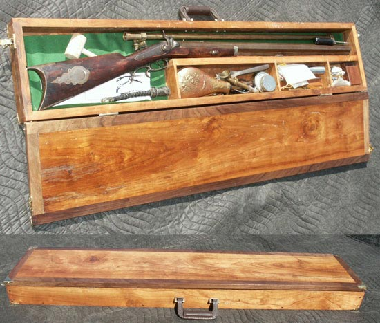 Custom Wood Gun Display Cases