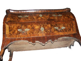 Circa 1750 Louis XV Chest of Drawers - Broken Leg Laying Down