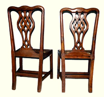 Restoration of circa 1790 Chipandale Chairs by Artisans of the Valley