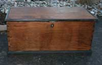 Hand Made Heirloom Chest Restoration Complete - Front
