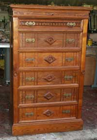 Canadian Oak Dresser After Restoration