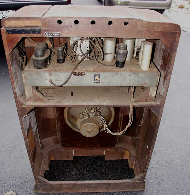 ... GE Antique Radio - Before Restoration - Components - Artisans Of The Valley - Restoration Gallery Eclectic Page 3