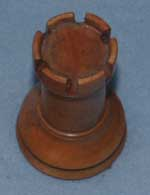 Staunton Chess Set - Rook After Restoration Top View