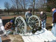 Cannon Restoration (Click for larger picture)