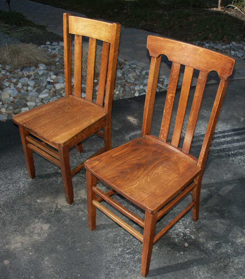 Refinished   Rebuilt Quarter Sawn Golden Oak Chairs  Artisans of the Valley   Restoration Gallery Golden Oak Page 1. Antique Quarter Sawn Oak Dining Table And Chairs. Home Design Ideas