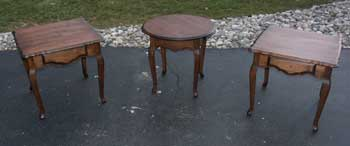 Modern Maple Tables - Tables Completed