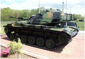 M60A3 Main Battle Tank Restoration Complete AmVets Post #77 - Side View