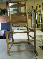 Shaker Rocker Restoration - Before Restoration
