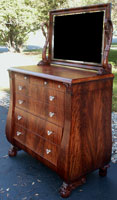 Circa 1904 Mahogany Bedroom Set Restoration Bureau Complete