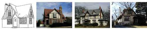Tudor Revival Image from Ridge Historical Society of Chicago