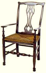Artisans of the Valley Concise History of American Furniture - Chipandale armchair