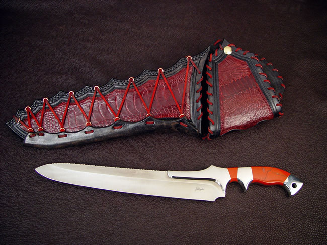 Custom Chef's Knife - Artemis by Jay Fisher www.jayfisher.com