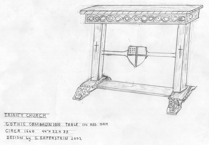 furniture sketch artisans of the valley commissioning process planning design phase