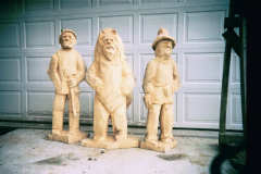 Artisans of the Valley feature Chainsaw Carving by Bob Eigenrauch - Group of Carvings