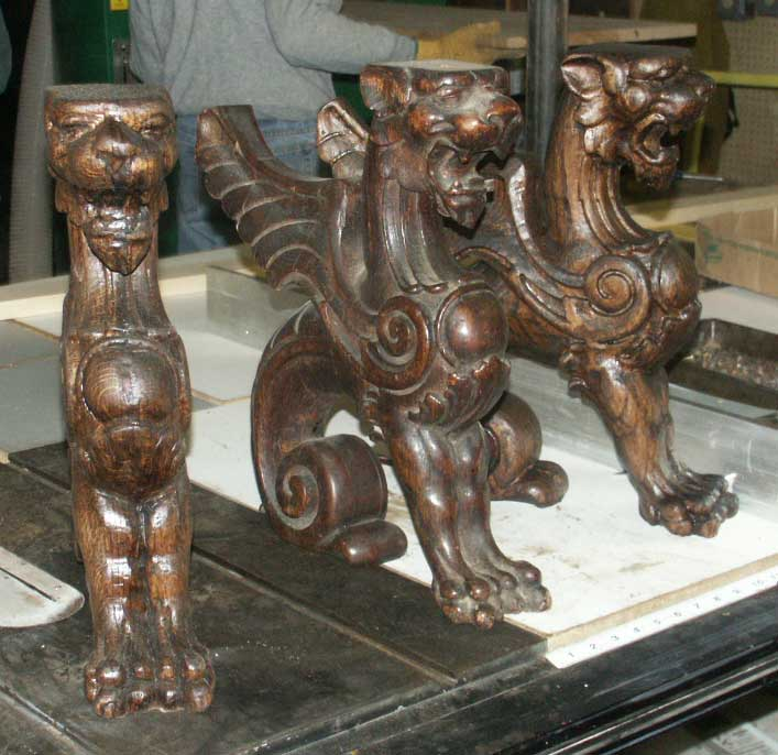 Artisans of the valley large scale woodcarving