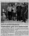 Timberlane Gets New Timberwolf - Hopewell Valley News Press Release September 13, 2007