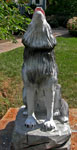 Chainsaw / Hand Carved Full Scale Timberwolf by Artisans of the Valley - Front View