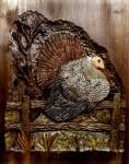 Wildlife Turkey Carving by Eric M. Saperstein Artisans of the Valley patterns by Lora S. Irish